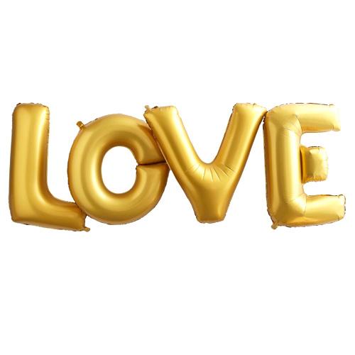 LOVE ballongbanner
