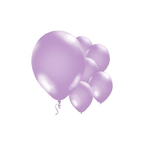 Metallic Ballonger Fiolett