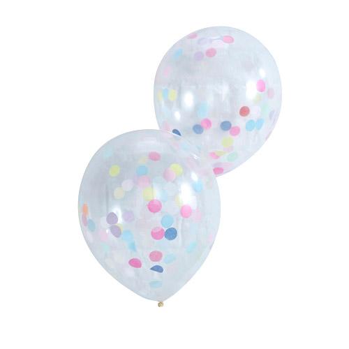 Confetti Ballonger - Pastel Love