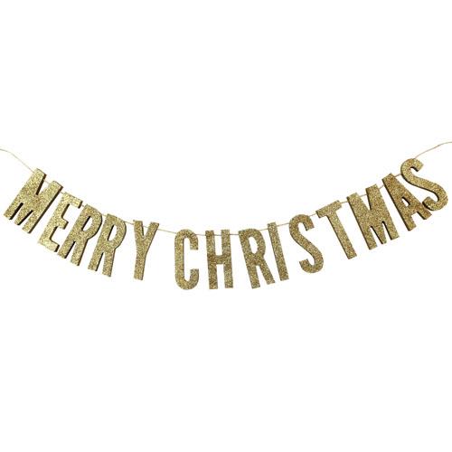 Vimpelrekke Merry Christmas Gull