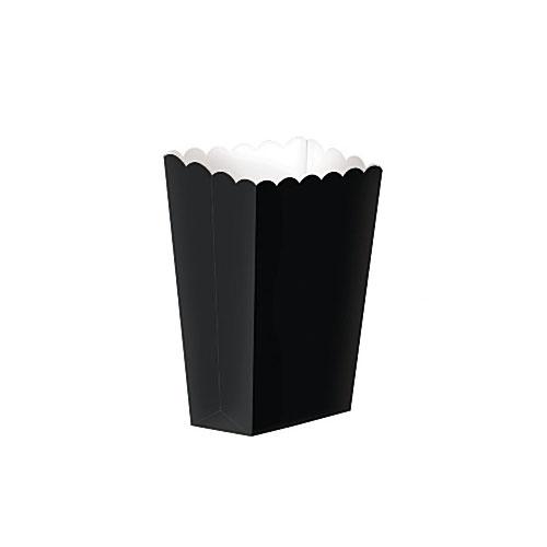 Popcornboks Sort Liten