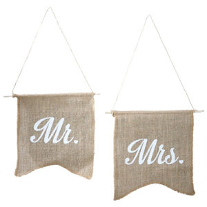 Mr & Mrs flagg i strie