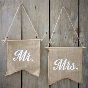 Mr & Mrs flagg i strie