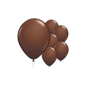 Sjokoladebrune ballonger