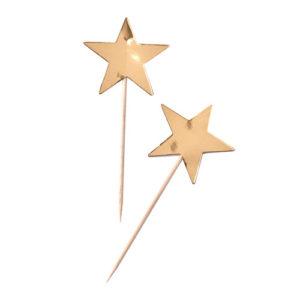 Stjernetopper I Gull