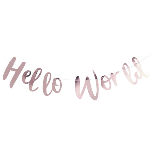 Hello World Vimpelrekke