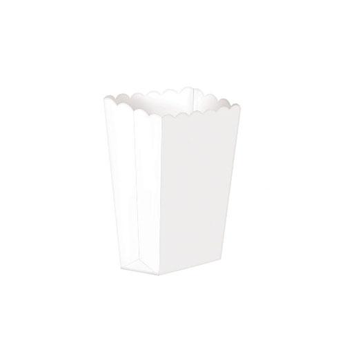 Popcornboks Hvit Liten
