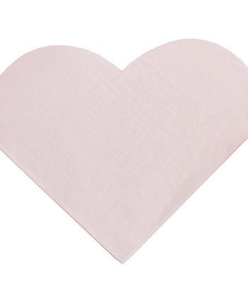Rosa Hjerte Servietter