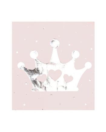 Rosa Prinsesse Servietter