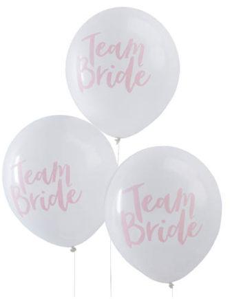 Team Bride Ballonger
