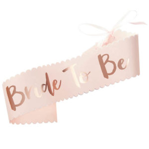 Bride to Be Sash - Team Bride
