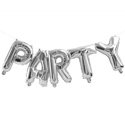 Party Ballong Sølv
