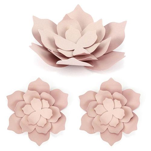 Papir Dekorasjon Blomst Rosa