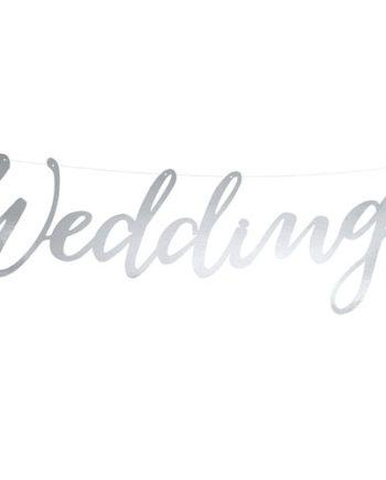 Banner Wedding Sølv