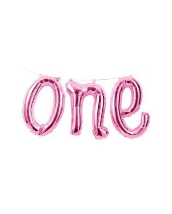 Ballongrekke One Rosa