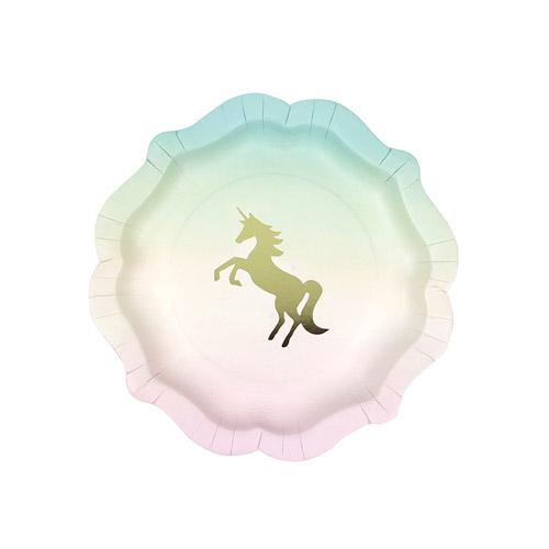 Unicorn tallerkner