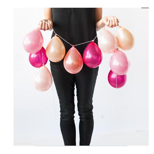 Ballongrekke Rosa og Fersken