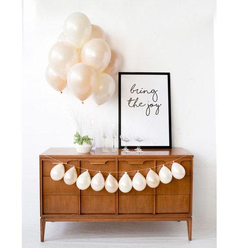Ballongbukett Pearl Wedding