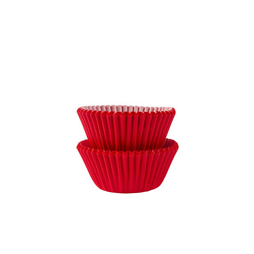 Mini Cupcakeformer Rød