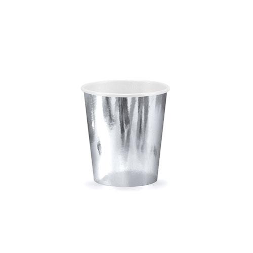 Sølvfolierte kopper