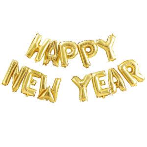 Happy New Year Ballongrekke