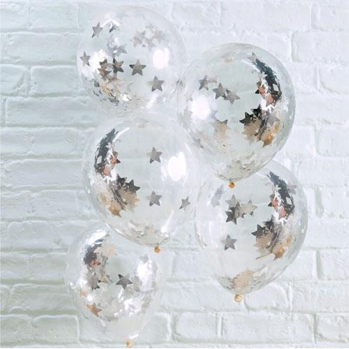 MS Ballonger Sølv Stjerne 1 Honeyoak