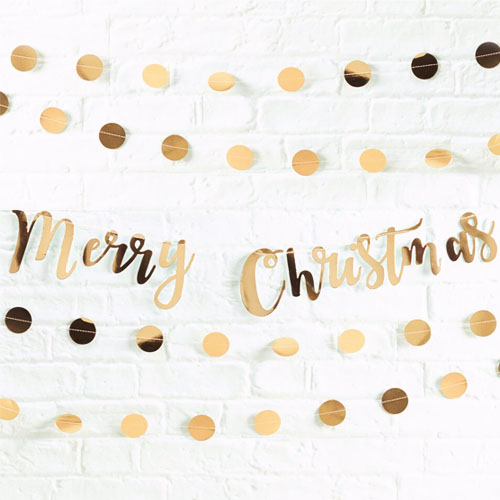 Merry Christmas vimpelrekke 1 Honeyoak