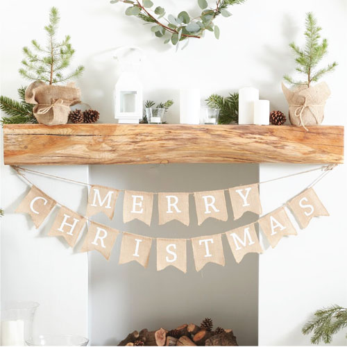 RC Merry Christmas Bunting 1 Honeyoak