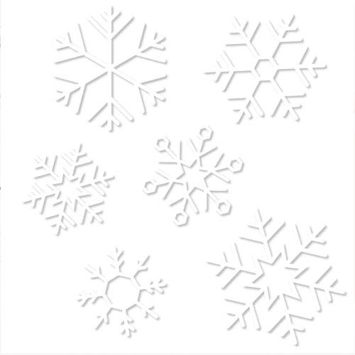 Vindusklister snøkrystall