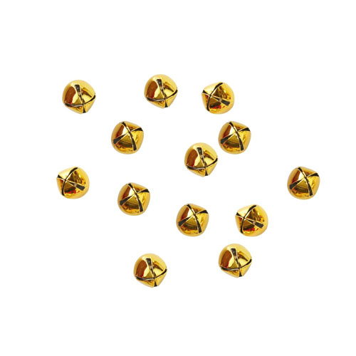 Konfettibjeller i gull