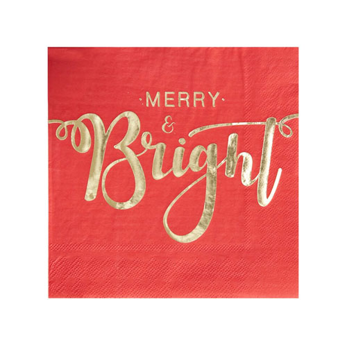 Merry and Bright servietter