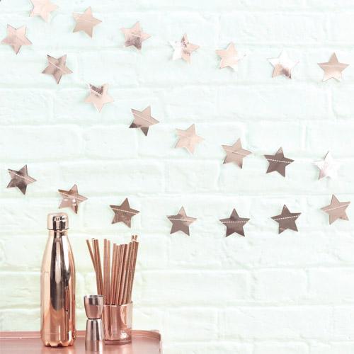 Rose Gold Stjerne rekke 1 Honeyoak