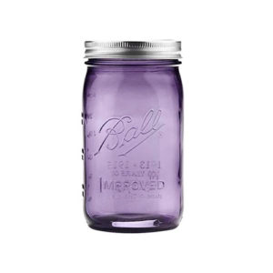 Ball® Mason Jar Wide Mouth 32 oz Lilla