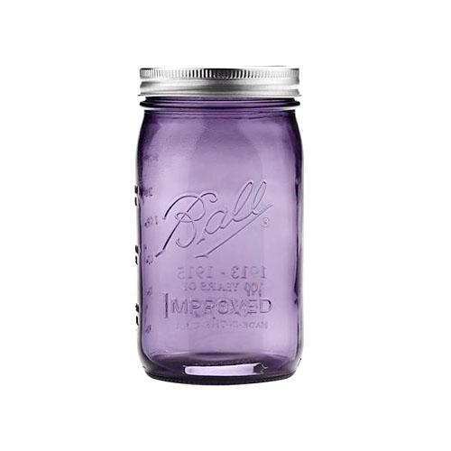 Ball® Mason Jar Wide Mouth 32 oz Lilla