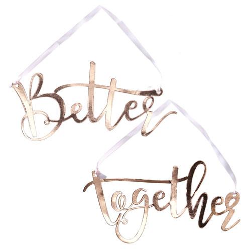 Better Together Stolskilt