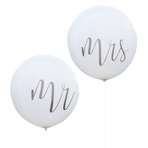Gigantiske Mr and Mrs Ballonger