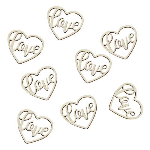 Bordkonfetti Love Hjerte