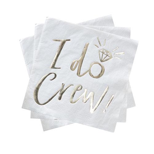 I Do Crew Servietter