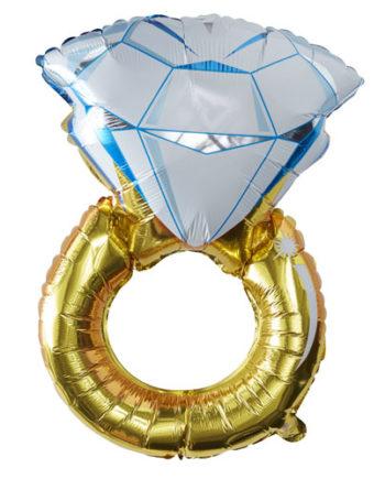 Foliert Ring ballong