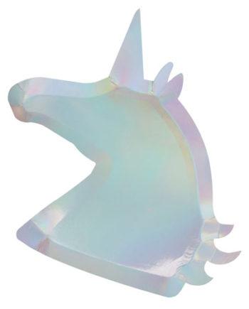 Papptallerken Unicorn