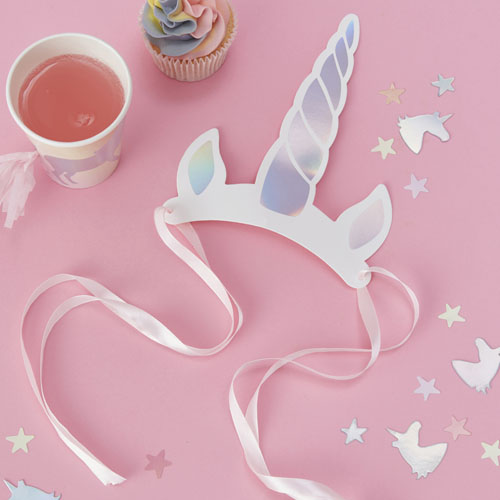 MW-109 Unicorn Horn Headband Honeyoak
