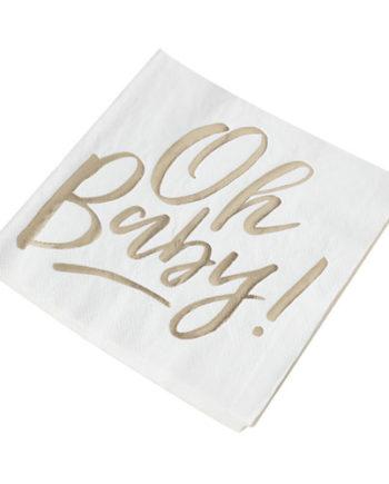 Oh Baby servietter