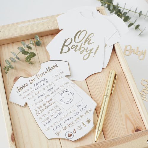 OB-104 Oh Baby Advice Cards Honeyoak