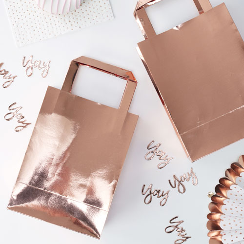 PM-365 Rose Gold Party Bags Honeyoak
