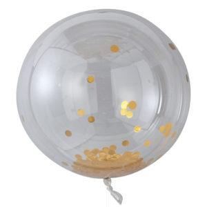 Store Runde Orb confettiballonger