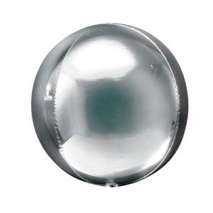 Sølvkule ballong