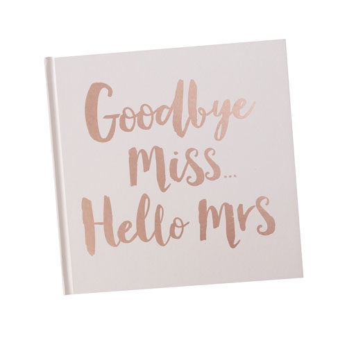 Goodbye Miss - Hello Mrs Bok