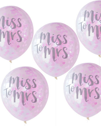 Miss to Mrs Ballonger