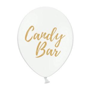 Ballonger Candy Bar Hvit
