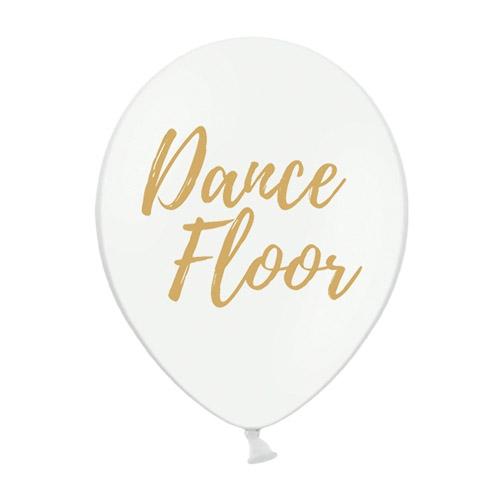Ballonger Dance Floor Hvit